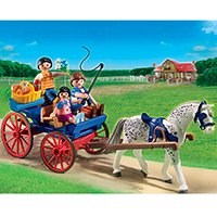 Playmobil Pony Ranch - Horse-Drawn Carriage