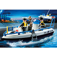 Playmobil City Action - Patrol Boat