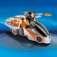 Playmobil Top Agents 2 - Spy Team Skybike