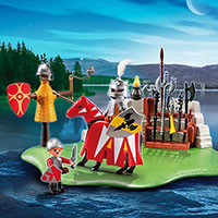 Playmobil Anniversary Compact Set Knights's Tournament + Cannon Wagon