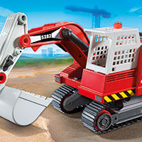 Playmobil Construction Excavator