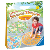 Outdoor Mandala-Designer - Animal Fun