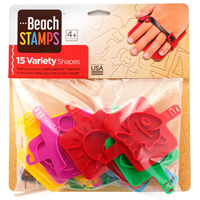 Beach Stamps - Variety Shapes