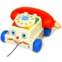 Retro Fisher Price Chatter Telephone