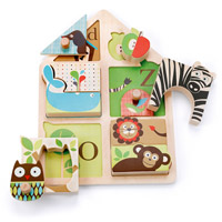 Alphabet Zoo Match & Play Puzzle