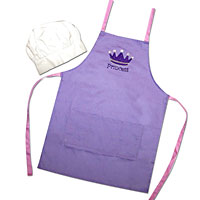 Princess Apron and Hat Set