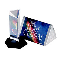 Light Crystal Prism - 4.5 inches