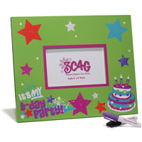 Birthday Autograph Photo Frame