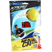 Kaos Tie-Not 250 Water Balloon Refill Pack