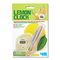 4M Lemon Clock