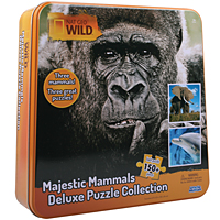 Nat Geo Majestic Mammals Deluxe Puzzle Collection