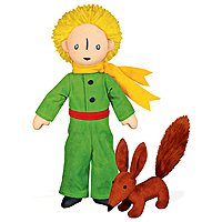 The Little Prince 12 inch with Fox Soft Toy