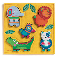 cf13f0bb Surprise Puzzle - Feast in the Jungle - 20 pc - Best for Ages 2 to 4