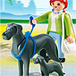 Playmobil Dog Breeds - Great Dane with Puppy