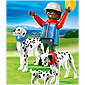 Playmobil Dog Breeds - Dalmatians with Puppy