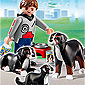 Playmobil Dog Breeds - Mountain Dogs with Puppy